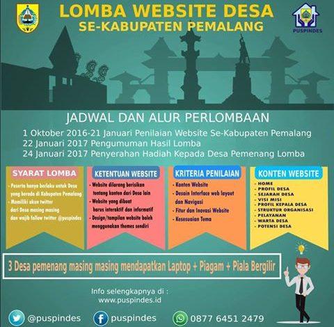 Lomba Website Desa se-Kabupaten Pemalang