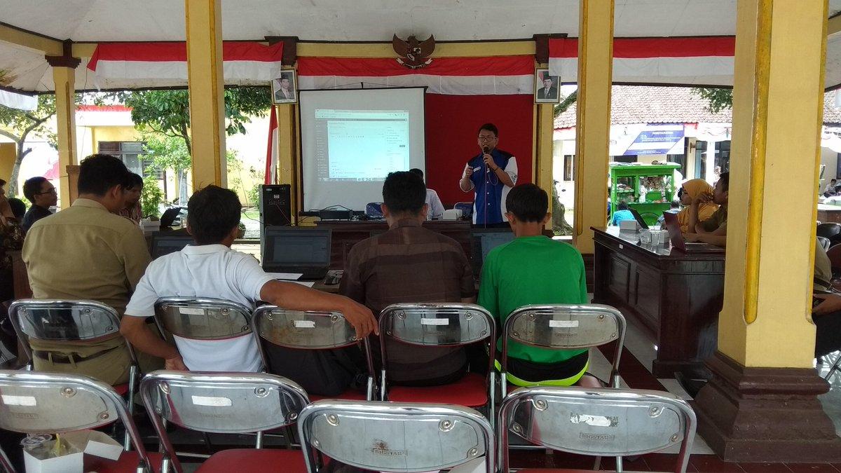 Desa Kreyo Mengikuti Pelatihan Pengelolaan Website Desa